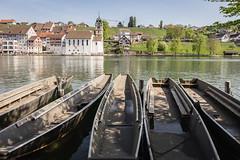 Rhine River in Eglisau