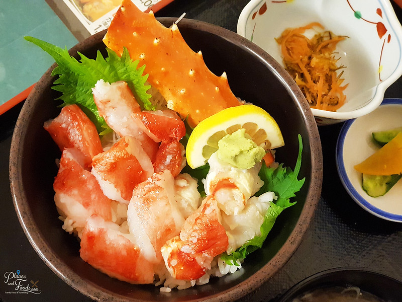 nijo king crab sashimi