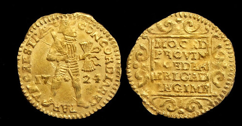 1724 gold ducat