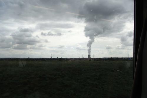 20100902 176 Jakobus Heimfahrt Kraftwerk Rauch Wolken