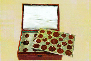 Ricard Napoleon medal collection box