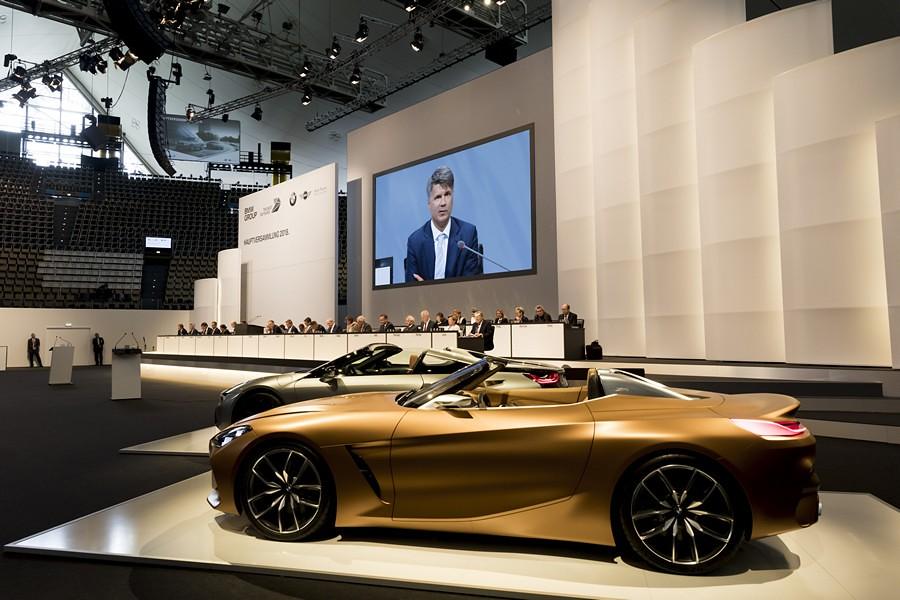 BMW Akcionersko sobranie BMW iNext 6