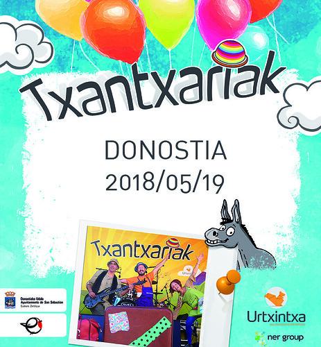 Txantxariak Donostian 2018/05/19