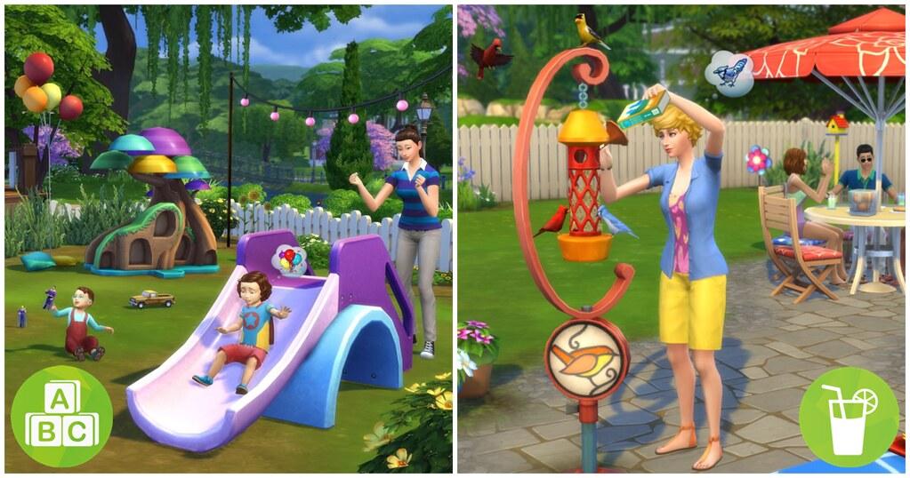 Foto de The Sims 4 Bebês e Diversão no Quintal Já Disponíveis para Consoles