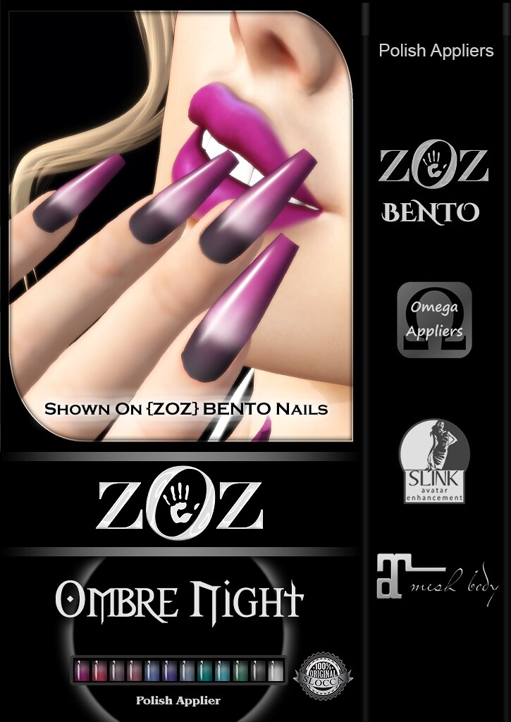 {ZOZ}  Ombre Night pix Bento L - TeleportHub.com Live!