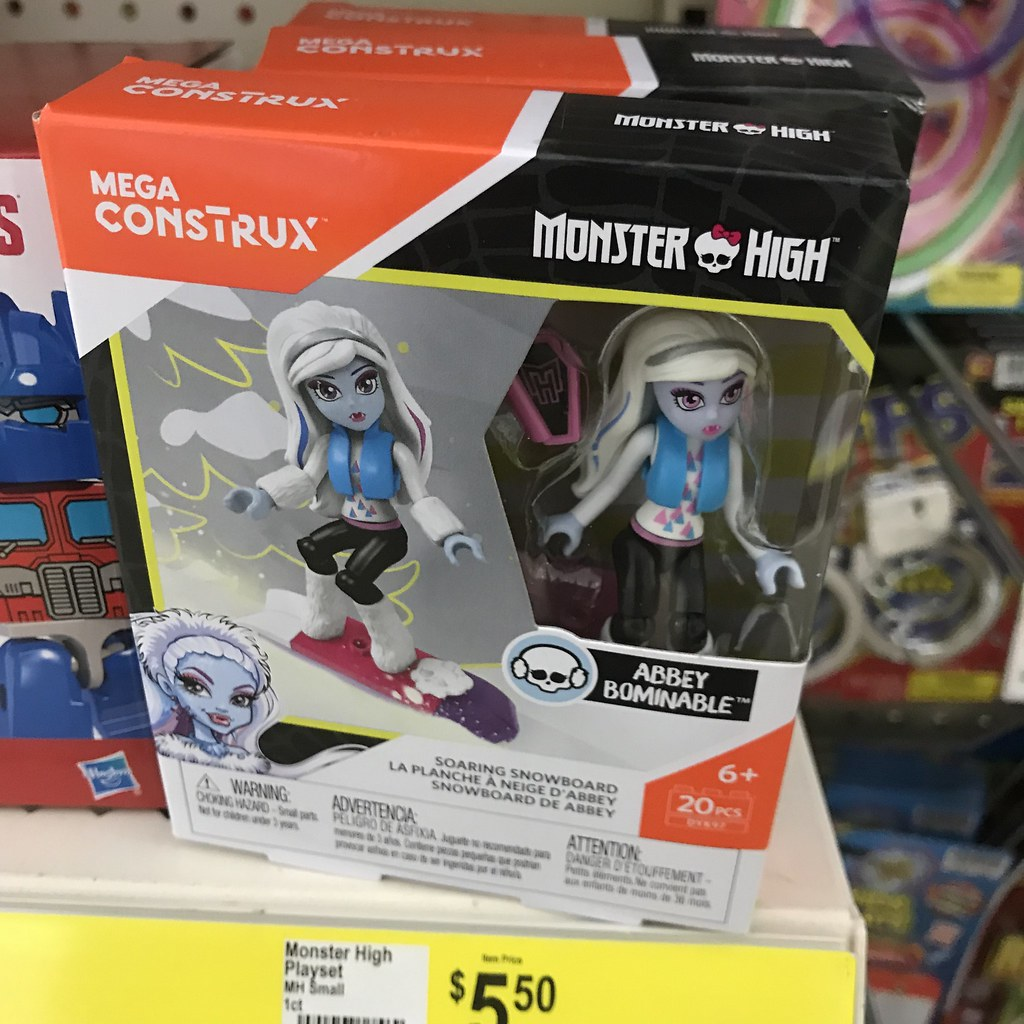 Dollar General Has New At Least To Me Monster High Mega Construx