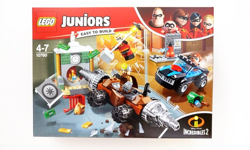 LEGO Juniors The Incredibles 2 Underminer Bank Heist (10760)
