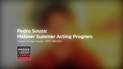 Meisner Summer Acting Program - Pedro Souza Interview