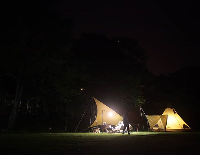 20180511 不露 會blue #歐北露 #campinglife #ilovecamping #ogawapilz15 #TiiTentHexa