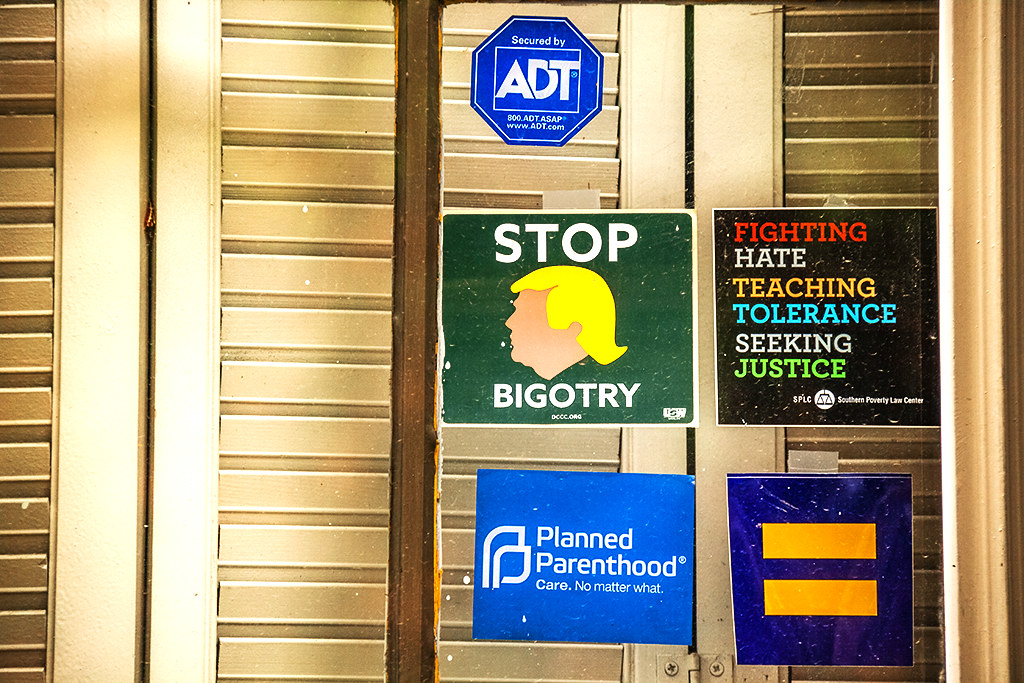 STOP BIGOTRY FIGHTING HATE--Gayborhood