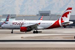 Air Canada Rouge | Airbus A319 | C-GBIM | Las Vegas McCarran