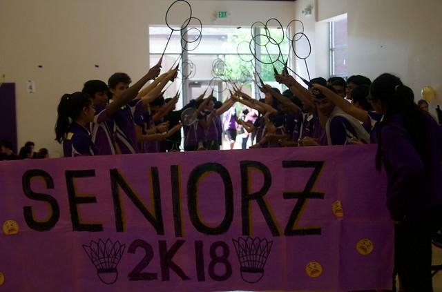 MVHS Badminton 4/24 Senior Night