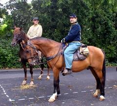 Confederate and Union Cavalry