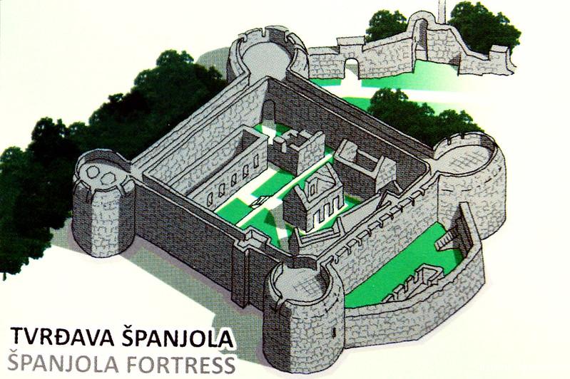 Изображение Шпаньолы с панорамной карты
