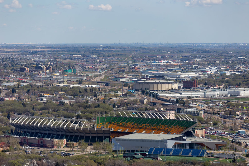 Commonwealth Stadium & Northlands Coliseum