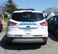 NYPD Police Academy Driver Training 5542 - 2014 Ford Escape (2)