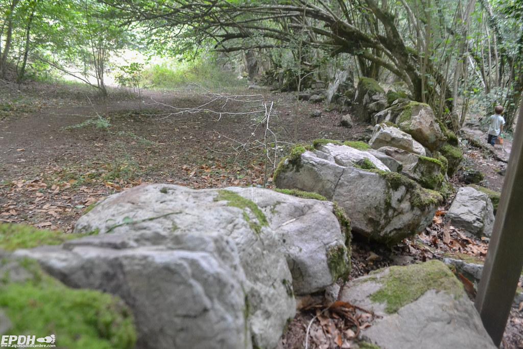 senderismo cascadas de Lamiña