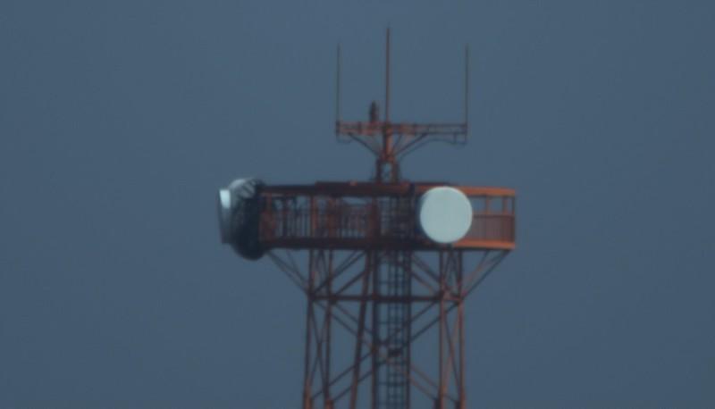 惑星撮影システムB(1.6x)を使用して撮った鉄塔