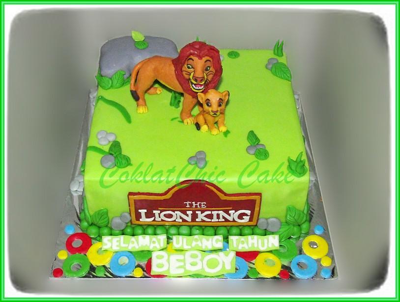 Cake Lion King BEBOY 18 cm