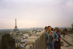 Viajes: París, 1995.