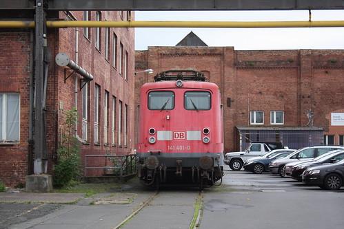 Technik-Museum Kassel: 141 401-0 im ehemaligen Henschelwerk in Rothenditmold
