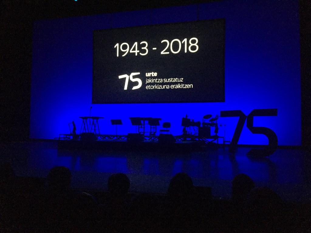 Eskola Politeknikoa 75 aniversario Kursaal
