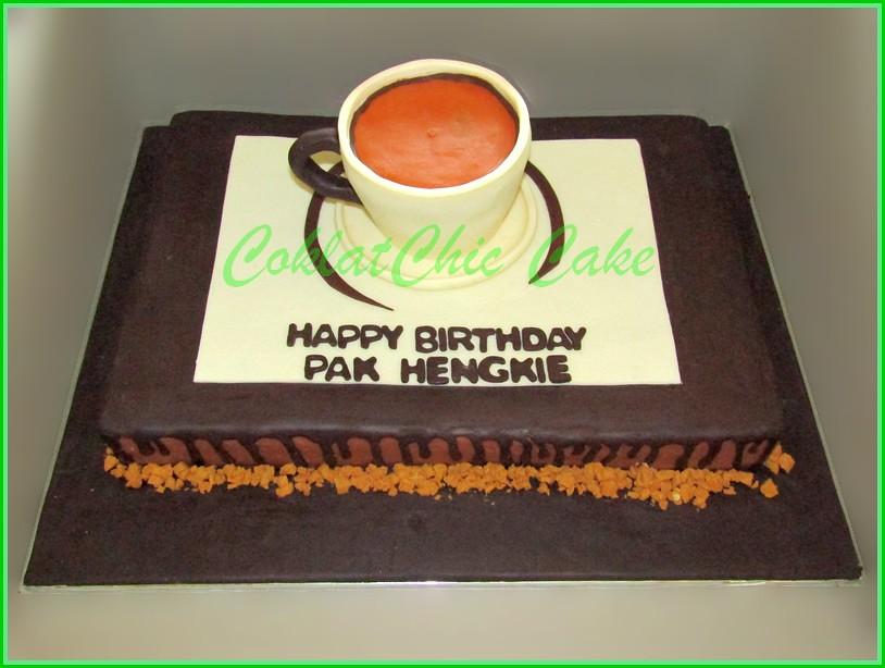 Cake Kopi Pak HENGKIE 30x45 cm