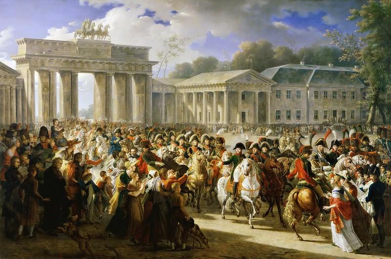 Charles Meynier - Entrée de Napoléon à Berlin. 27 octobre 1806 (1810)