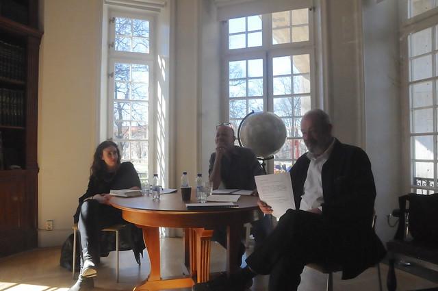 Diktläsning med Magdalena Eshaya, Sven Angleflod och Johan Celander