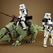 Sandtrooper and Dewback by LEGO 7