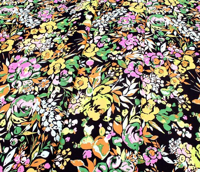 Art Gallery Fabrics Indigo & Aster La Floraison Dim