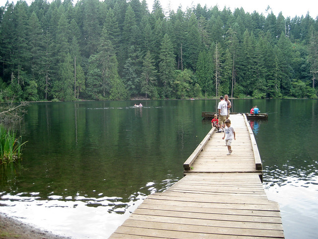 Battleground Lake (Washington State), Canon POWERSHOT SD1100 IS