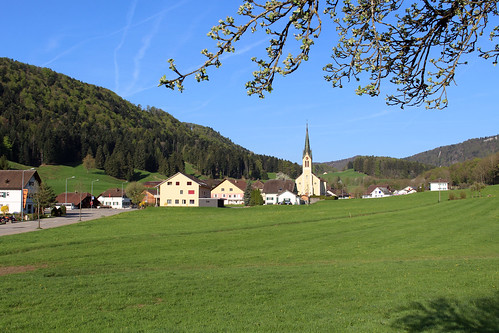 Blick auf Ramiswil