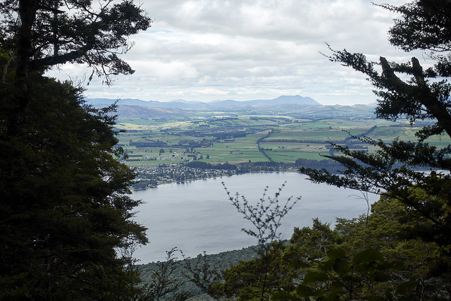 View of Te Anau