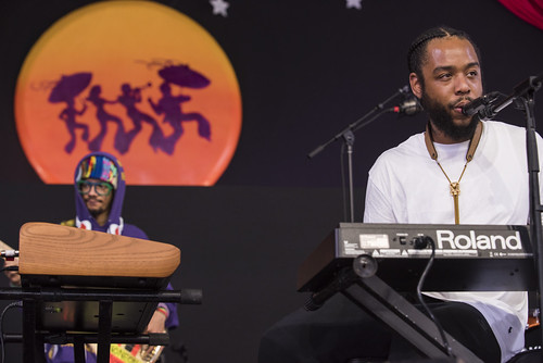 Terrace Martin performs at Jazz Fest day 4 on May 3, 2018. Photo by Ryan Hodgson-Rigsbee RHRphoto.com