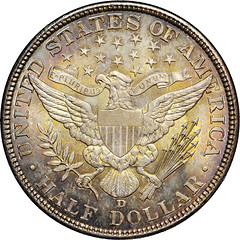 1906-D Half Dollar reverse