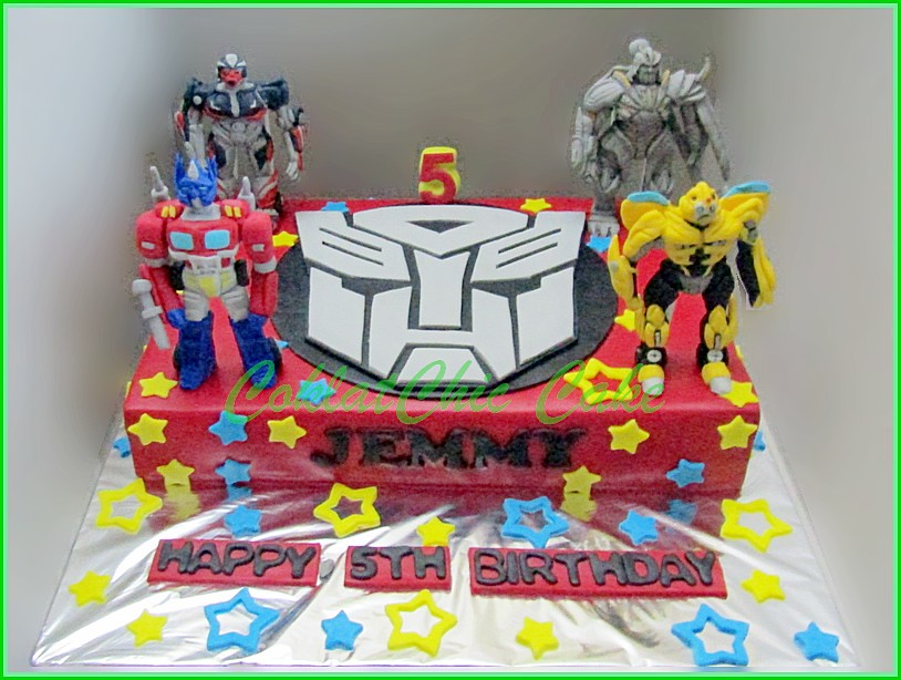 Cake The Transformers JEMMY 20x30 cm