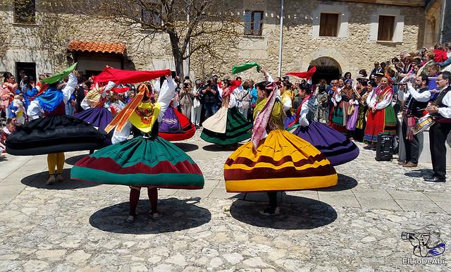 Danzas Burgalesas Justo del Río en la Romería Popular a Santa Casilda 6