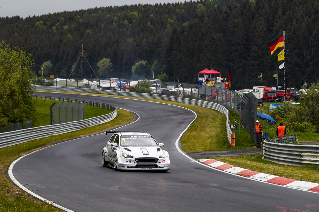 11 BJORK Thed (SWE), YMR, Hyundai i30 N TCR, action during the 2018 FIA WTCR World Touring Car cup of Nurburgring, Germany from May 10 to 12 - Photo Florent Gooden / DPPI