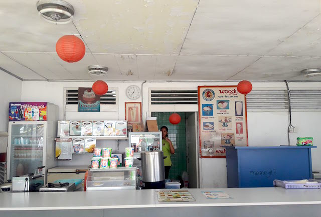 Woody Ice Cream Booth