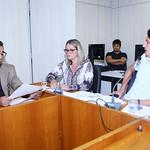 seg, 14/05/2018 - 14:07 - Da esquerda para direita: Vereador Autair Gomes, vereadora Nely Aquino e vereador Doorgal Andrada Data: 14/05/2018Local: Plenário Camil CaramFoto: Abraão Bruck/CMBH