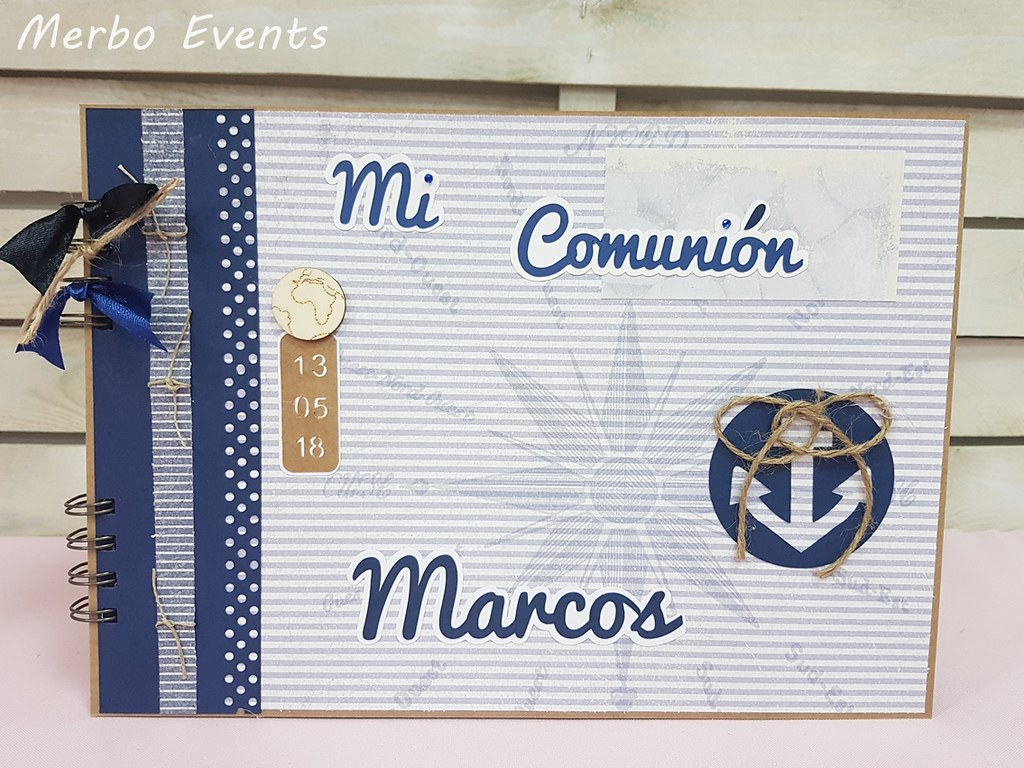 libro de firmas marinero Merbo Events
