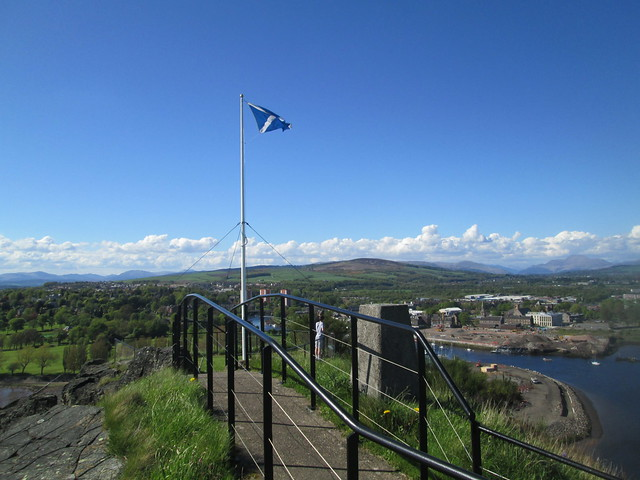 View from Dumbarton Rock