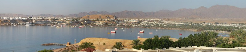 Naama Bay, MorningIMG_2911 Panorama