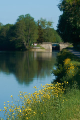 Ecluse sur le canal du Nivernais - Photo of Coulanges-la-Vineuse