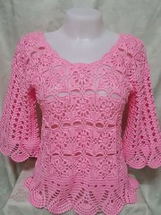 Good Sunday, Girls 😎 😍 😘 that most stylish blouse I'm in love with this crochet work of art