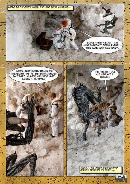 Bamcomix - An old face returns - Chapter Seven - What Lies Beneath The Ice? 26912951337_224bbd3d99_z