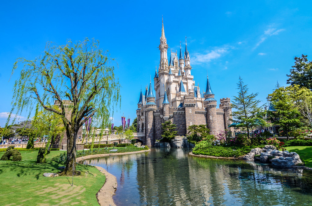 Castle water weeping tree TDL