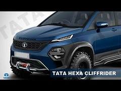 2018 Tata Hexa Cliffrider Concept Rendered | You Should Have A Look