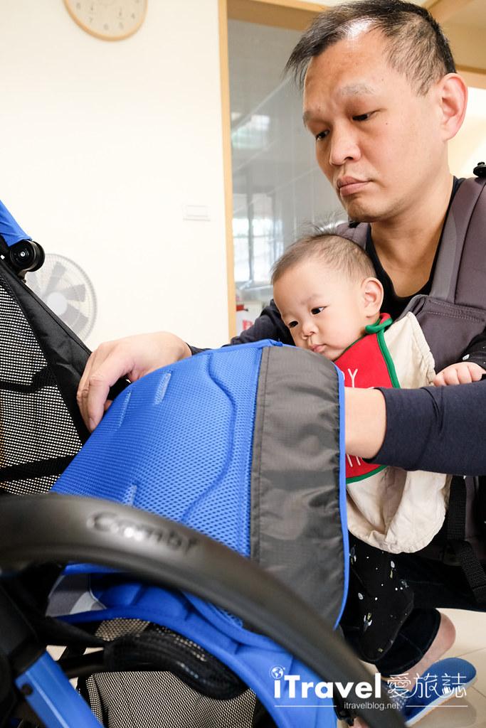 轻量型婴儿车推荐 Combi F2 Plus (19)